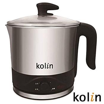 歌林Kolin-多功能不鏽鋼單柄美食鍋KPK-MN003