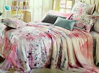 ~Indian~粉色佳人 雙人四件式天絲兩用被床包組