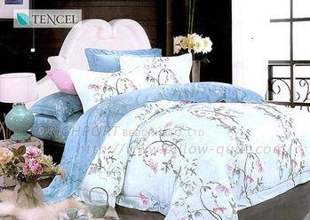 【Victoria】 依樣 雙人四件式天絲兩用被床包組