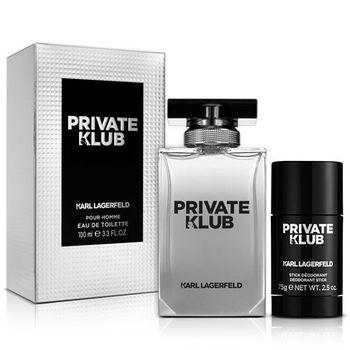 Karl Lagerfeld卡爾·拉格斐 派對卡爾男性淡香水(100ml)-送品牌體香膏