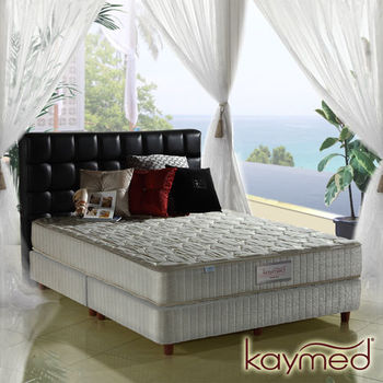 Coolfoam自然感 二線免翻面記憶膠獨立筒床墊-雙人加大6尺