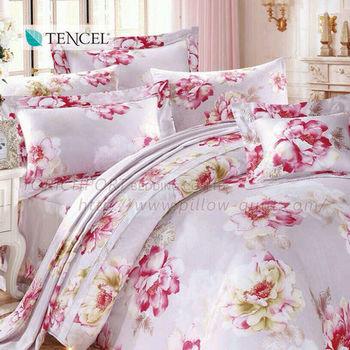 【Victoria】花韻 雙人七件式天絲床罩組