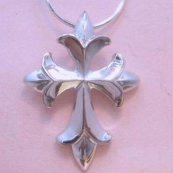 【米蘭精品】十字架925純銀項鍊飾品墜子