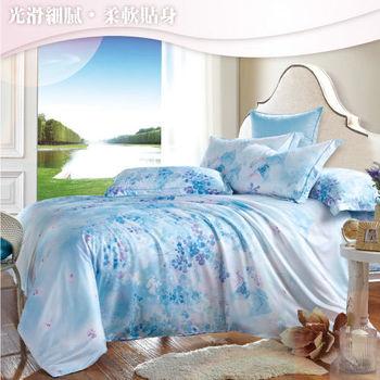 Sun Color 風情雅韻 嘉儷絲雙人四件式鋪棉兩用被床包組