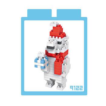 LOZ 鑽石積木-9122【聖誕節系列】-聖誕熊