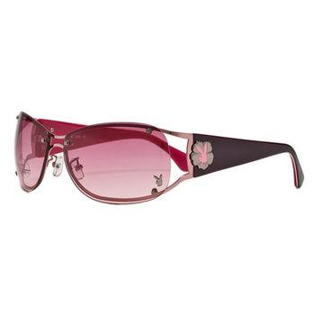 PLAYBOY-時尚太陽眼鏡(紅色)PB81012