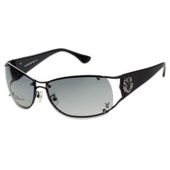 PLAYBOY-時尚太陽眼鏡(黑色)PB81012