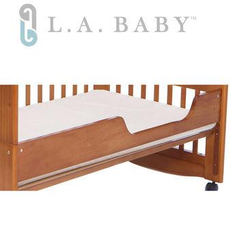 【美國 L.A. Baby】成長床床側板 (白色/咖啡色)