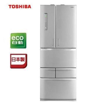 『TOSHIBA東芝 』 日本原裝501L 智慧變頻六門電冰箱 GR-D50FTT