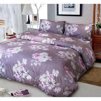 【Victoria】花漾  純棉雙人床包+枕套三件組