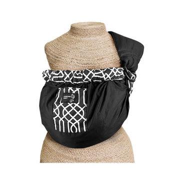 初生嬰兒透氣背帶(黑色幾何)