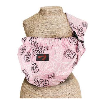 初生嬰兒透氣背帶(粉紅玫瑰花)