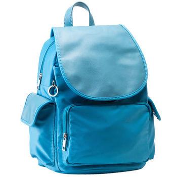 【M2nd】韓劇時尚百搭輕量後背包 (藍色)