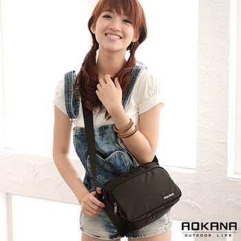 【AOKANA奧卡納】MIT台灣製 小巧商務包 斜背包(02-018)