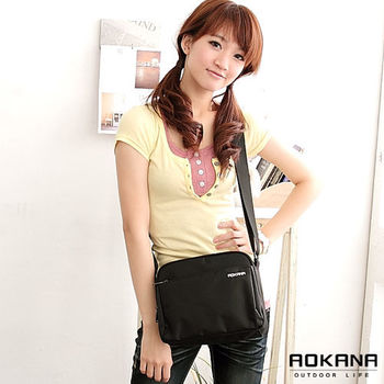 【AOKANA奧卡納】MIT台灣製 小巧斜背包 商務包(02-019)
