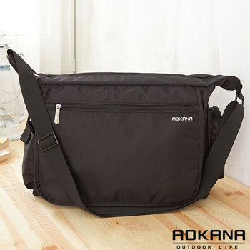 【AOKANA奧卡納】MIT台灣製 大型斜揹包 側背包(02-025)