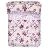 ~Arnold Palmer雨傘牌~陶醉粉紫 ^#45 60紗精梳純棉床包被套雙人四件組