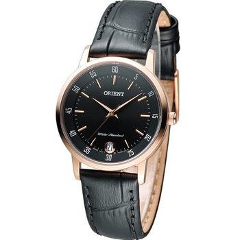 東方錶 ORIENT 美好年代 時尚腕錶 FUNG6001B 黑