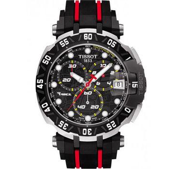 TISSOT T-RACE 限量競速計時腕錶 T0924172705100