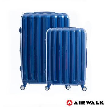 AIRWALK - AW01經典花學系行李箱組24+28吋 二箱組