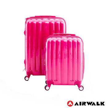 AIRWALK - AW01經典花學系行李箱組19+24吋 二箱組