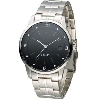 STAR 時代 永恆時光紳士腕錶 9T1407-231S-D