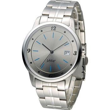 STAR 時代 永恆時光紳士腕錶 9T1407-231S-GR