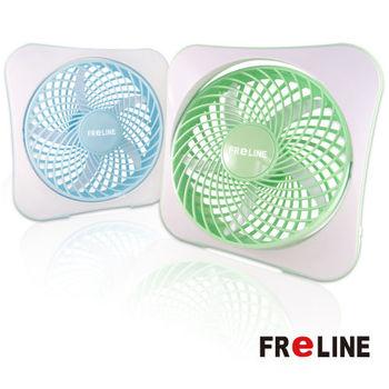 【經濟包】FReLINE 兩段式8吋DC節能電風扇 / USB / 辦公室 / 閱讀_FF-1003