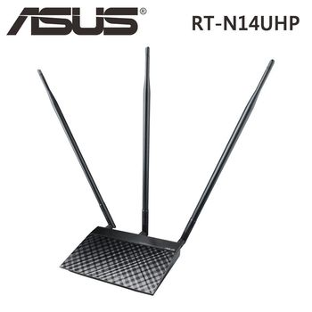 ASUS 華碩 RT-N14UHP 300 Mbps Wireless-N 無線路由器