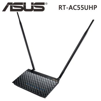ASUS 華碩 RT-AC55UHP 802.11ac AC1200 雙頻 無線路由器 / WIFI 分享器