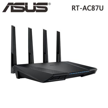 ASUS 華碩 RT-AC87U 802.11ac AC2400 雙頻 Gigabit 無線路由器