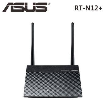 ASUS 華碩 RT-N12+ Wireless-N300 無線路由器 (RT-N12PLUS)