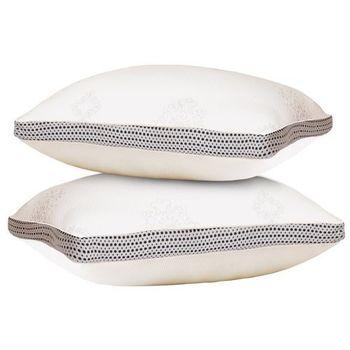 LooCa天然乳膠獨立筒舒眠枕