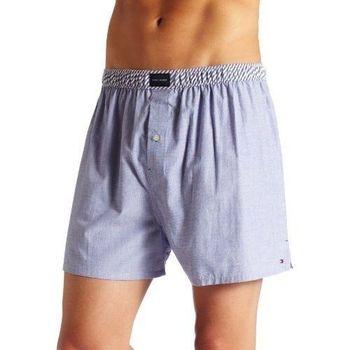 (預購)【Tommy Hilfiger】2015男時尚鈕扣款淡藍色平口內著
