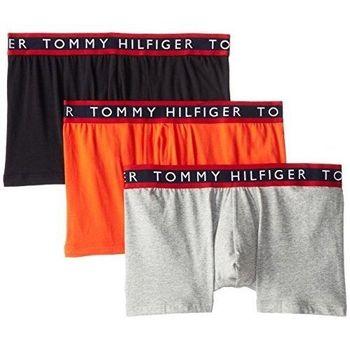 (預購)【Tommy Hilfiger】2015男時尚Logo腰帶混搭四角內著3件組