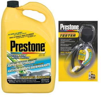 Prestone百適通全合成長效防凍冷卻液/水箱精AF2033+水箱精濃度檢測器 AF-1420