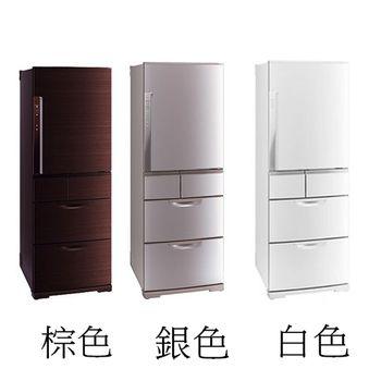 好禮送【MITSUBISHI三菱】520L日製五門變頻冰箱MR-BX52W(白WC)/(銀NC)/(棕BR)