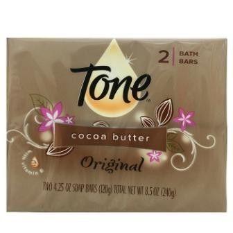 美國tone透恩可可脂香皂(2*12組/24塊)