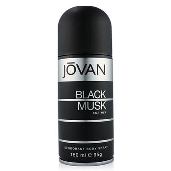 JOVAN Black Musk 壞男人黑麝香男香體香噴霧(150ml)