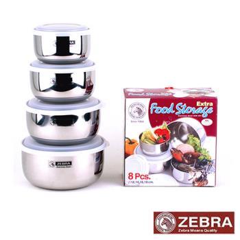 【Zebra 斑馬】高型調理碗4入組