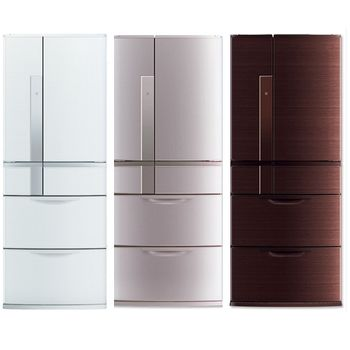 【MITSUBISHI三菱】635L變頻六門冰箱MR-JX64W(W白)/(N銀)(BR棕)