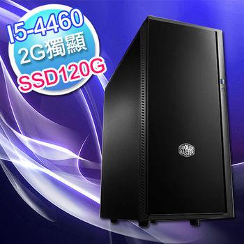【華碩平台】音速 H97-PRO GAMER  I5-4460+SSD120G+華碩 GTX750-PHOC-2GD5高效能遊戲主機