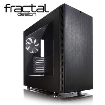 【Fractal Design】Define S 靜音機殼(側板開窗)