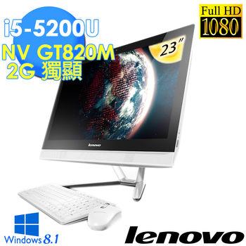 【LENOVO聯想】 C50-30 23吋 FHD i5 2G獨顯 AIO桌上型電腦(C50-30 F0B1009VTW)