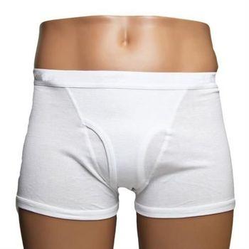 BVD 100% 純棉男四角平口褲(3件組)