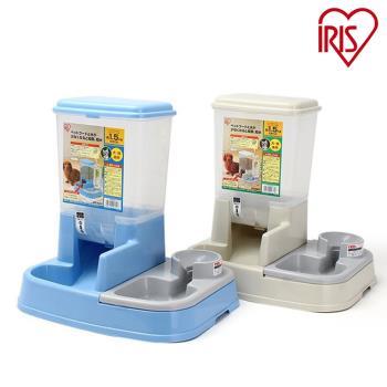 日本IRIS 兩用 自動給食飲水器JQ-350 貓/狗適用