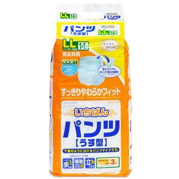 日本一番 成人活力褲 L~L(14片x4包/箱,共56片)