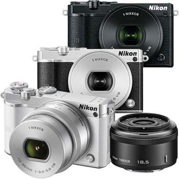[64G+雙電組]Nikon 1 J5 10-30mm+18.5mm 雙鏡組 (公司貨)