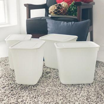 《舒適屋》簡約日系塑膠附蓋收納盒/整理箱(1入組)