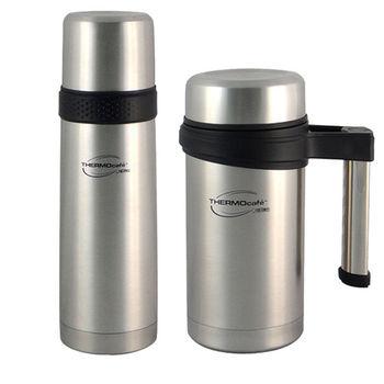 【THERMOS膳魔師】不鏽鋼燜燒罐保溫杯組 TC-700F+TC-500M